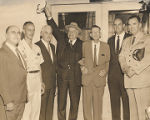 Frank W. Boykin with a group of unidentified men.