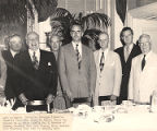 Frank W. Boykin and others at a luncheon.