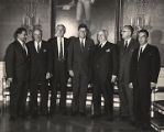 President John F. Kennedy with Frank. W. Boykin and others.