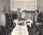 Luncheon for Secretary of Defense Charles E. Wilson, hosted by Frank W. Boykin at the Capitol in...