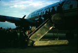 People boarding a TWA airplane in Montgomery.