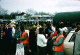 Selma to Montgomery marchers congregating.