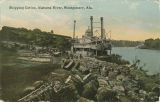 """Shipping Cotton, Alabama River, Montgomery, Ala."""