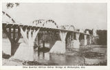 """New Quarter Million Dollar Bridge at Wetumpka, Ala."""