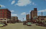 """Greensboro Avenue, looking North, Tuscaloosa, Alabama."""