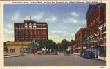 Government Street, Looking West, Mobile, Alabama.