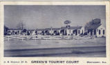 Green's Tourist Court, Montgomery, Alabama.