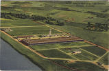 Aerial view of Wolverine Tube Division, Decatur, Alabama