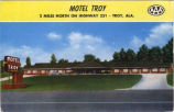 Motel Troy, Troy, Alabama.