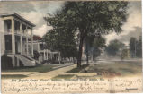 Mrs. Augusta Evans Wilson's residence, Government Street, Mobile, Alabama.