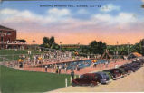 Municipal Swimming Pool, Gadsden, Alabama.
