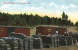 Shipping Pig Iron, Anniston, Alabama