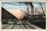Steamer Loading Cotton At State Docks, Mobile, Alabama