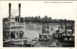 Scene on Tom Bigbee River, Demopolis, Alabama