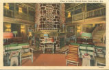 Grand Hotel, Point Clear, Alabama, View of the lobby.