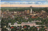 Bird's-eye view, Birmingham, Alabama
