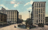 Commerce Street, showing Exchange Hotel and First National Bank, Montgomery, Alabama