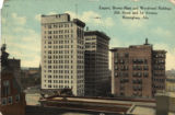 Empire, Brown-Marx and Woodward Builldings in Birmingham, Alabama