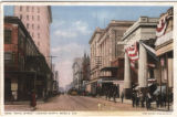 Royal Street Looking North in Mobile, Alabama