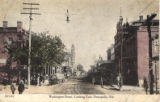 Washington Street, Looking East, Demopolis, Alabama