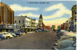 Broad Street in Gadsden, Alabama