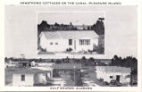 Armstrong cottages on the canal (Pleasure Island), Gulf Shores, Alabama