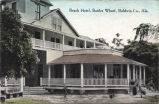 Beach Hotel, Battles Wharf, Baldwin County, Alabama.