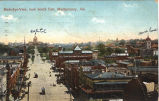 Birds-eye-view, look South East, Montgomery, Alabama.
