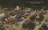 Aerial view of main business section, Huntsville, Alabama