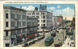 19th Street looking North from 1st Avenue, Birmingham, Alabama