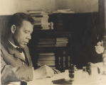 Booker T. Washington At His Desk