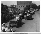 World War II Bond Rally Parade,