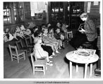 World War II Pre-School Class,