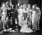 Group in Halloween Masks