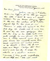 "Letter from Holland M. Smith, nicknamed ""Howling Mad,"" to his cousin Jessie Smith of..."