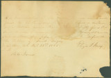 Bill of sale for a slave bought by Dr. Benjamin Rush Jones from Eliza Jones.