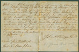 Bill of sale for a slave bought by Presley Davis from John A. Stringer.