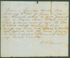 Bill of sale for a slave bought by George N. Gilmer from B. F. Tarvin.