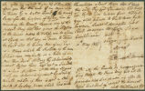 Letter from William Witherington to James Dellet in Claiborne, Alabama.