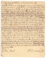 Deed of gift from John D. Terrell to his daughter, Alpha Neal, giving her a young slave woman...