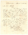 Letter from R. W. Russell in Lowndesboro, Alabama, to William Bonnell Hall.