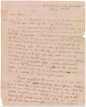 Letter from General Edmund P. Gaines at Fort Mitchell, Alabama, to John Coffee at Fort Strother,...