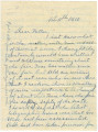 Letter from John E. Hall at the East Alabama Male College in Auburn, Alabama, to his father,...