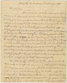 Letter from Joseph Noble in Tuscaloosa County, Alabama, to in Samuel B. Bidgood in Jackson,...