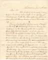 Letter from W. D. Drisk, a teacher in Tuscaloosa, Alabama, to Governor William Hugh Smith in...