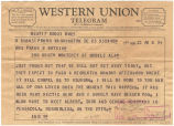 Telegram from Frank W. Boykin to Ocllo Boykin.