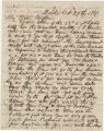 Letter from Colin J. McRae in Mobile, Alabama, to his business partner, Mr. Boykin.
