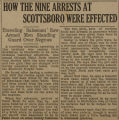 """How the Nine Arrests at Scottsboro Were Effected."""