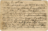 Journal kept by Richard Blount while serving on the Georgia-Alabama Boundary Survey Commission.