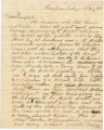 Letter from George Goldthwaite in camp near Tuskegee, Alabama, to John A. Campbell in Montgomery,...